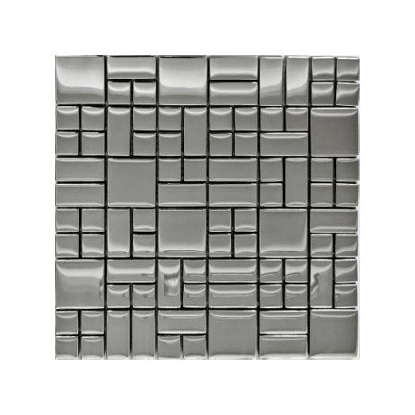 Mozaika MS-111 Srebrna Metalizowana 3 30x30