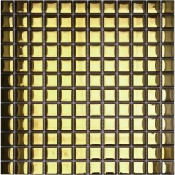 Mozaika MS-107 Złota Metalizowana 30x30