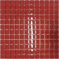 Mozaika szklana Karmin 30 x 30 kostka 2,3 cm