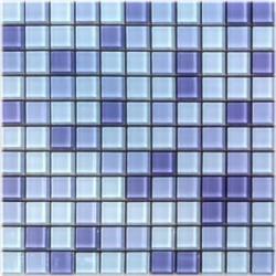 Mozaika szklana fiolet mix 30x30