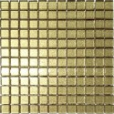 Mozaika szklana Brokat Złoty 30x30 2,3 cm