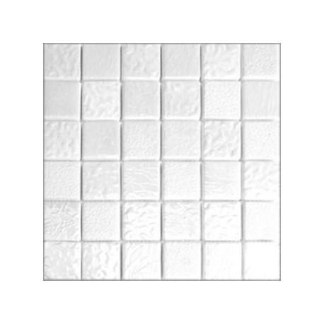 Mozaika MS-114 Biała Ceramiczna 30x30 kostka 4,8