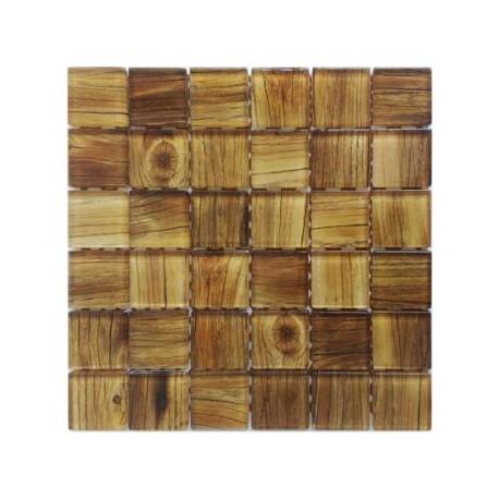 Mozaika Wood 30x30 cm kostka 4,8