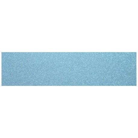 Dekor szklany Brokat Niebieski 15x60