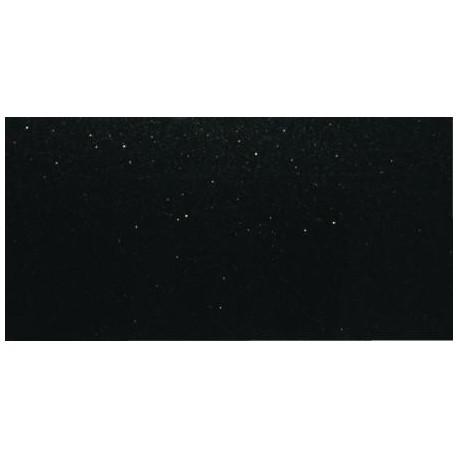 Dekor szklany Czarny Brokat Srebrny 30x60