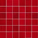 Mozaika szklana Czerwień Paski 30x30 4,8 cm 7F2