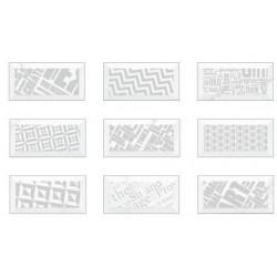 Kafel Patchwork Carrara 9,8x19,8
