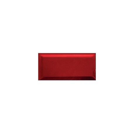 Dekor szklany Czerwień 9,8x19,8