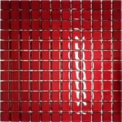 Mozaika szklana Czerwień 30x30 kostka 2,3 cm