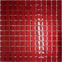 Mozaika szklana Czerwień 30 x 30 kostka 2,3 cm