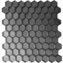 Mozaika Szklana Hex S Grafit 32,7x29,6