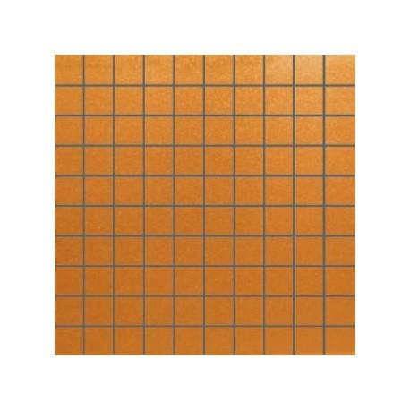 Mozaika szklana Miedziana 30 x 30 kostka 2,8 cm