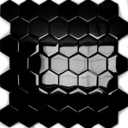 Mozaika Szklana Hex L Czerwień 32,7x31,8